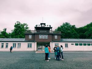 grey day at Buchenwald